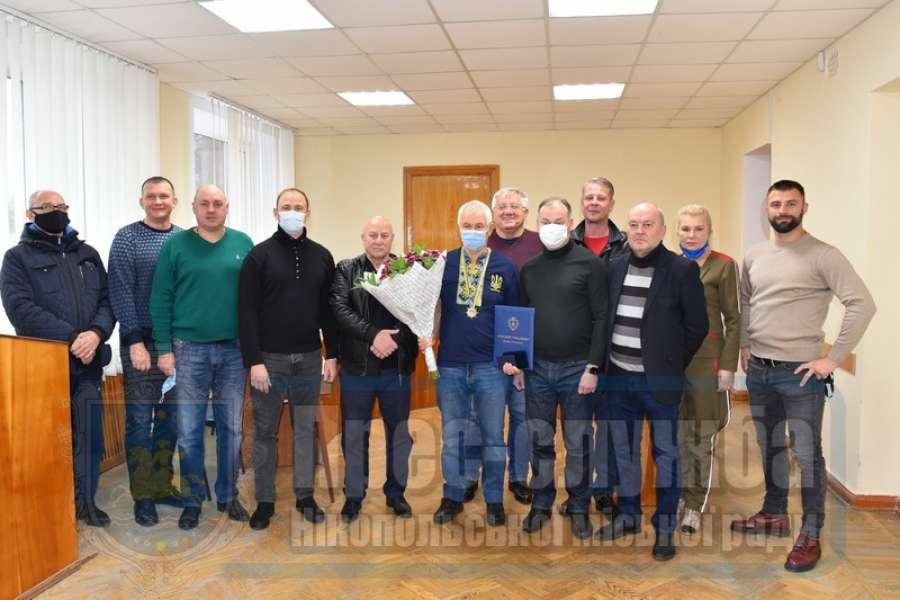 Головного футбольного тренера Григорія Варжеленка визнано Почесним громадянином міста Нікополь