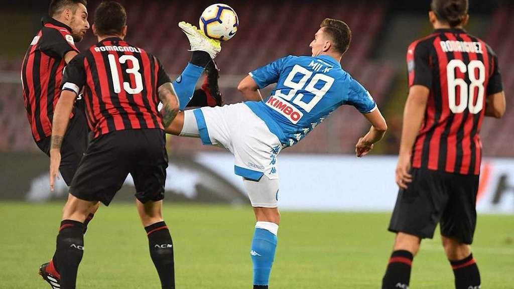 «Наполи» — «Милан»: Онлайн-трансляция матча чемпионата Италии