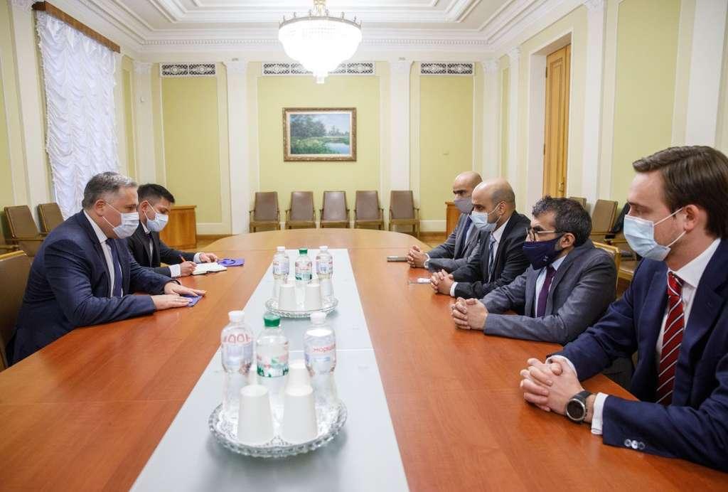 Заступник керівника Офісу Президента обговорив з представниками еміратської оборонної компанії EDGE перспективи співпраці у сфері ВТС