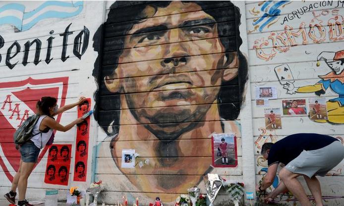 Причиной смерти Марадоны стала острая сердечная недостаточность,-  СМИ