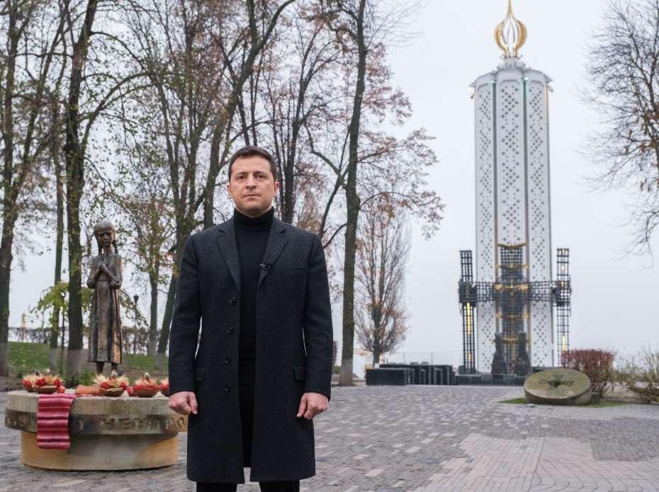 Звернення Президента України Володимира Зеленського у День пам'яті жертв голодоморів