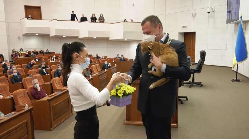Мэра Днепра поздравил Байден