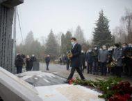 У річницю повернення Леоніда Каденюка з космосу Президент взяв участь у відкритті пам'ятника першому космонавту незалежної України
