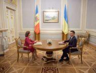 Володимир Зеленський і Майя Санду відзначили важливість спільної боротьби з контрабандою на українсько-молдовському кордоні