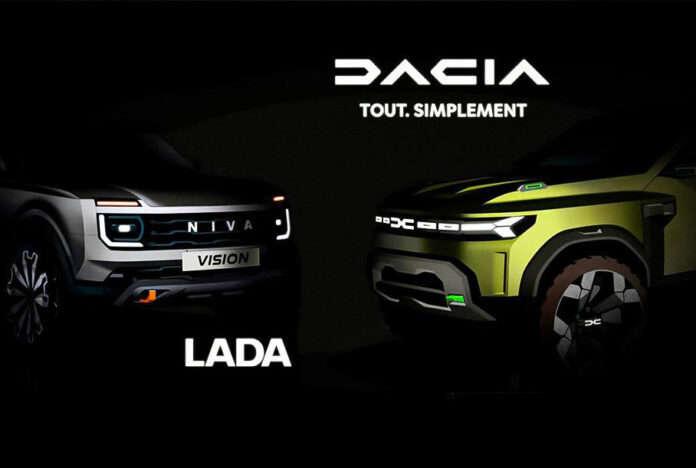 Все новые модели Dacia и Lada будут строить на одной платформе