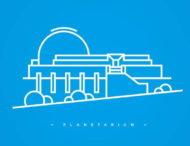 Для Днепровского планетария разработали новый логотип