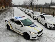 Украинская полиция получила большую партию новых Peugeot 301