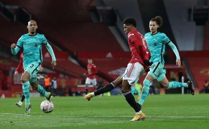 «Манчестер Юнайтед» в ярком матче выбил «Ливерпуль» из Кубка Англии