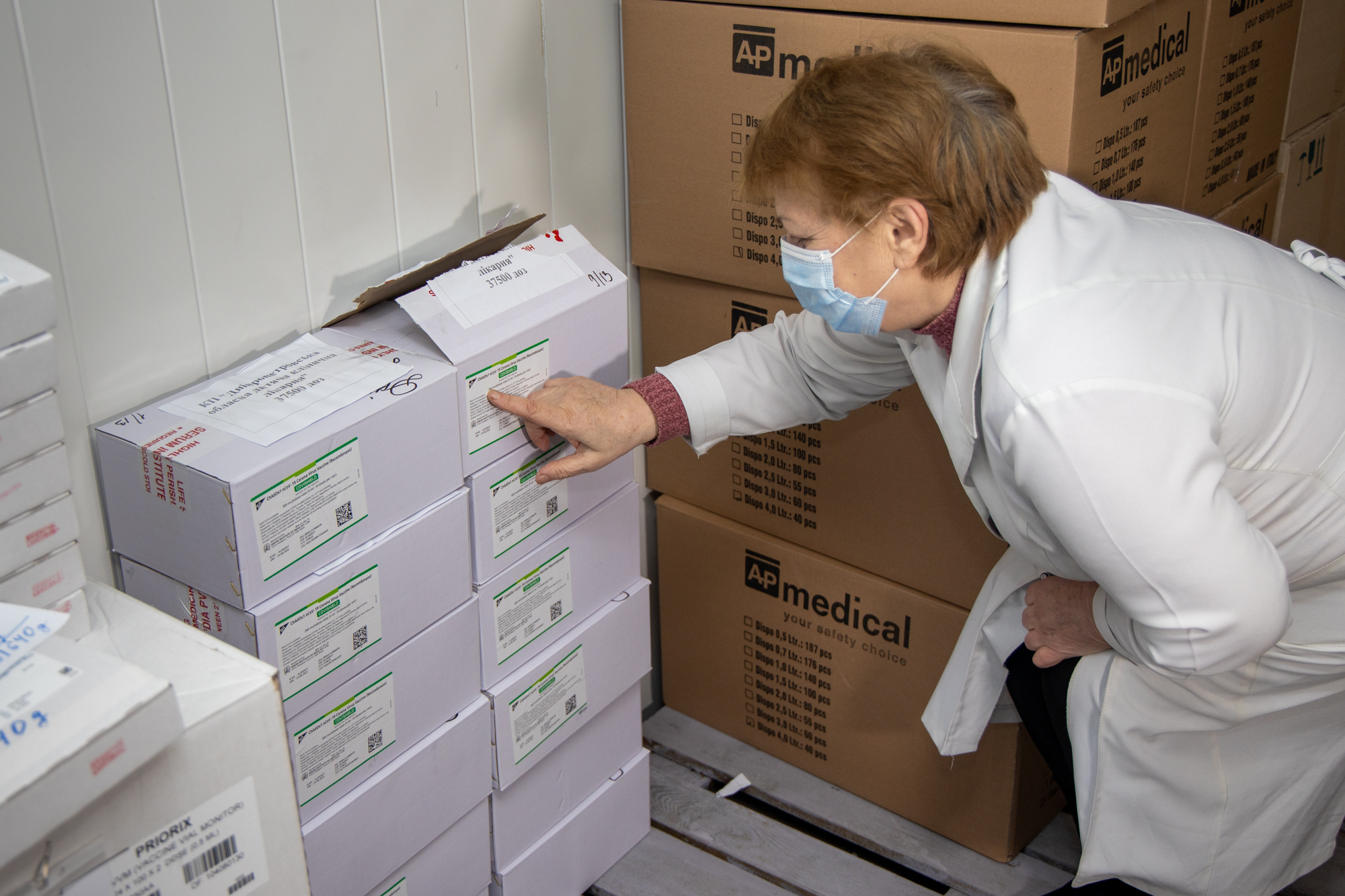 Дніпропетровщина отримала вакцину від COVID-19