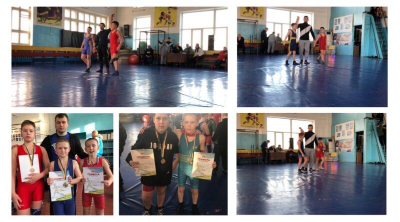 Юні спортсмени Запорізької АЕС вибороли призові місця на Чемпіонаті з вільної боротьби