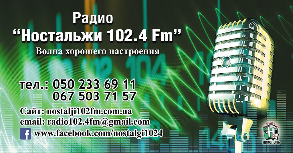 Презент-Привіт на Радіо Ностальжі 102.4 Fm