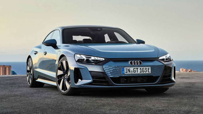 Audi представила конкурента Porsche Taycan