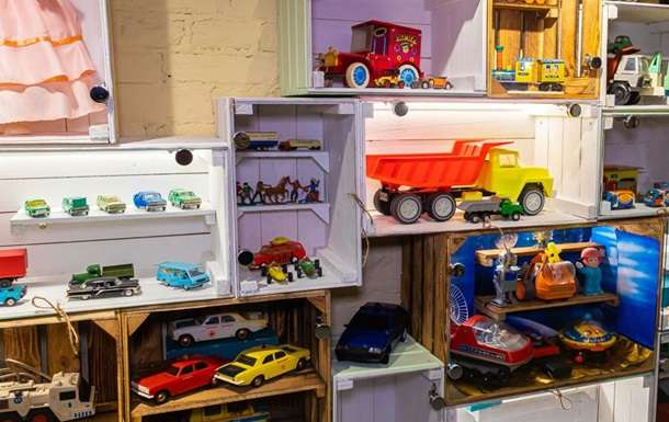 В Днепре открыли Музей детства