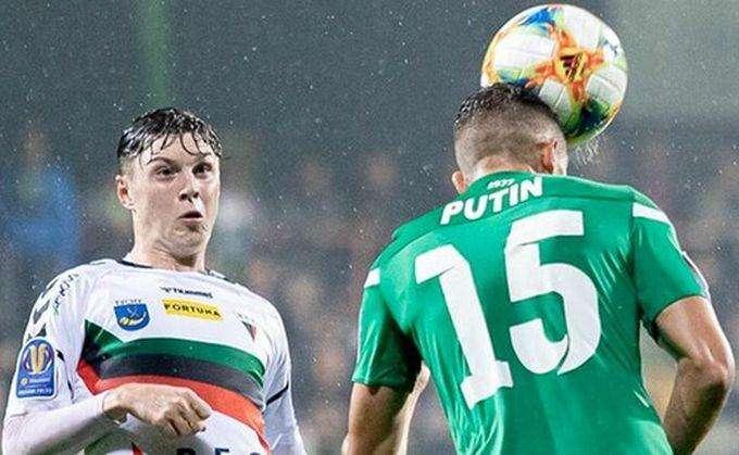 Украинского футболиста с фамилией «Путин» не взяли в белорусский клуб
