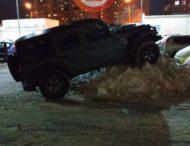 «Мастер-класс» по парковке устроили киевские водители