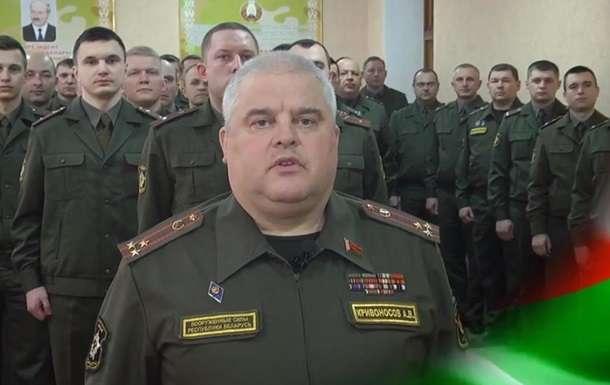 Офицер передал военнослужащим «заряд энергии» Лукашенко