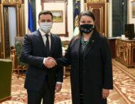 Глава держави призначив Оксану Маркарову Надзвичайним і Повноважним Послом України у США