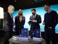 Президентське подружжя оглянуло виставку «Леся Українка: 150 імен»