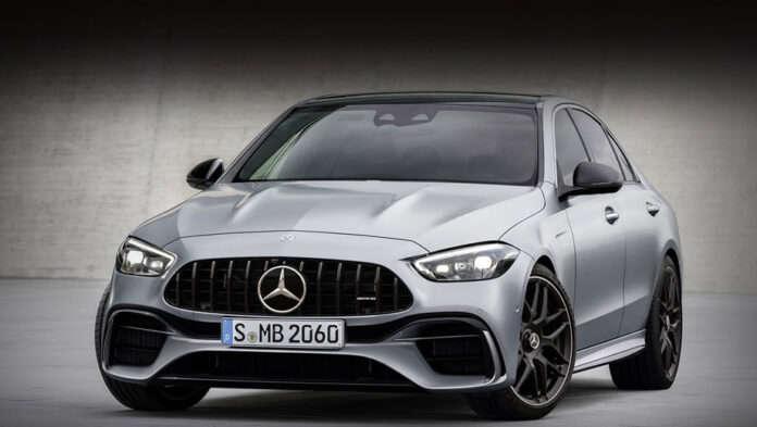 Новый Mercedes-AMG C 63 получит больше 550 л.с. мощности
