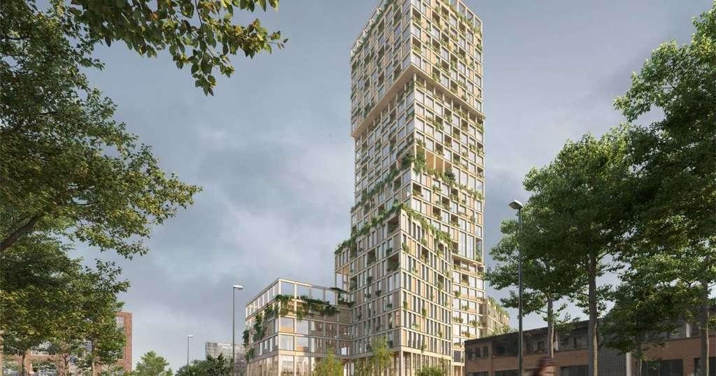 В Германии построят многоэтажку из дерева