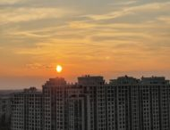 Закат. г. Киев 21.03.2021
