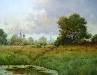 «Болото». Автор картины Николай Луговенко.