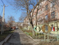«Военный» дом в Никополе.