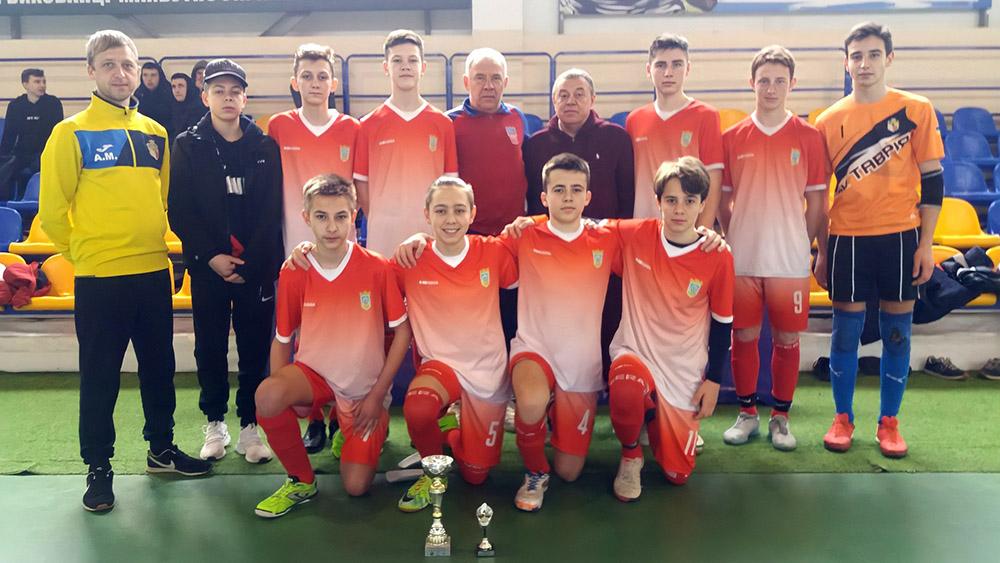 «ТЕМП-ЗАЕС» — призер Кубку Ліги України з футзалу