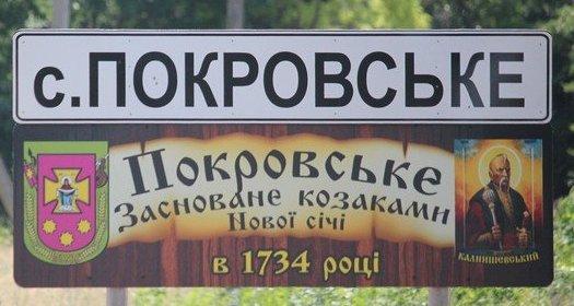 Краткий словарь лексики села Покровское.