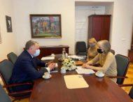 Ігор Жовква провів робочі консультації з головним зовнішньополітичним радником Президента Литовської Республіки