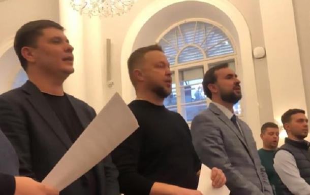 Во Львове создали депутатский хор