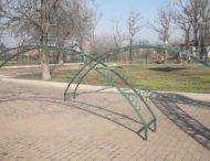 У парку Гірників Покрова  встановили ландшафтний декор