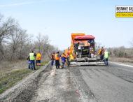 Стартував ремонт ділянки дороги Кам'янське-Шульгівка