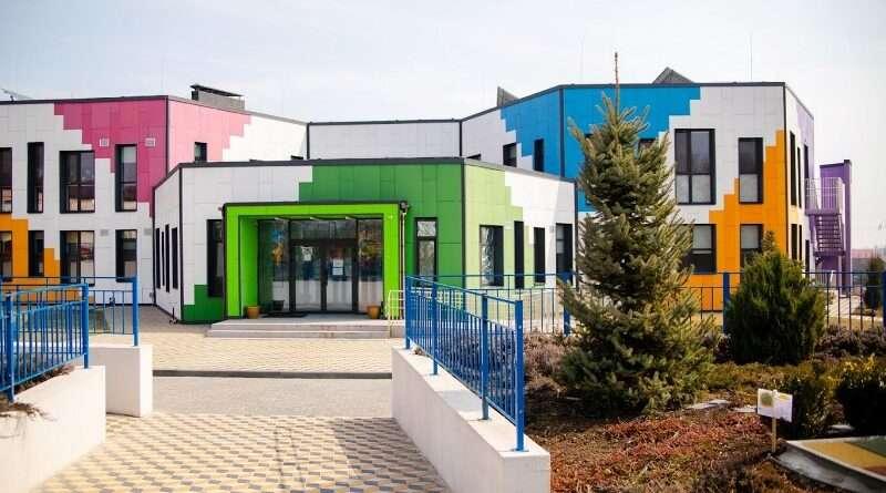 Детский сад в Подгородном — пример строительства для Украины (фото)