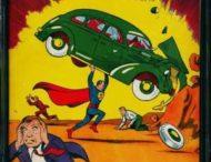 Первый комикс с суперменом продали за $3,25 млн