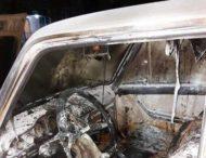 После ссоры мужчина сжег авто знакомой