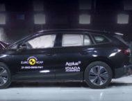Электромобили Skoda Enyaq и Volkswagen ID.4 разбили по методике Euro NCAP