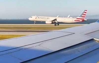 Самолеты с пассажирами устроили гонку