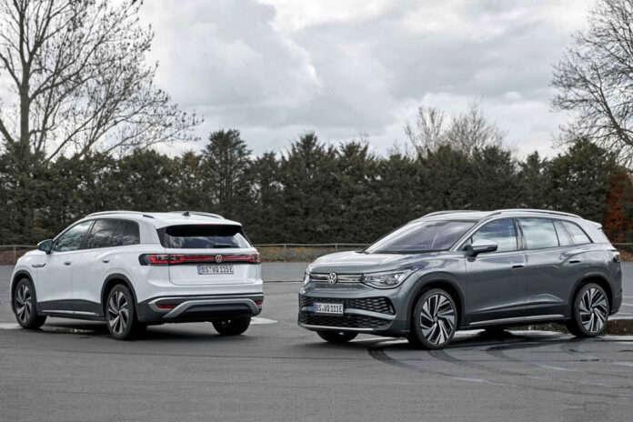 Volkswagen представил электрический кроссовер ID.6