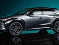 Новый электрический кроссовер Toyota дебютировал в Китае
