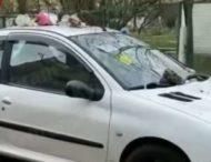 В Киеве «от души» отомстили «герою парковки»