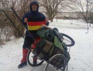 Украинец прошел пешком 1180 км