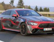 Фотошпионы поймали на тестах самую мощную четырехдверку Mercedes-AMG