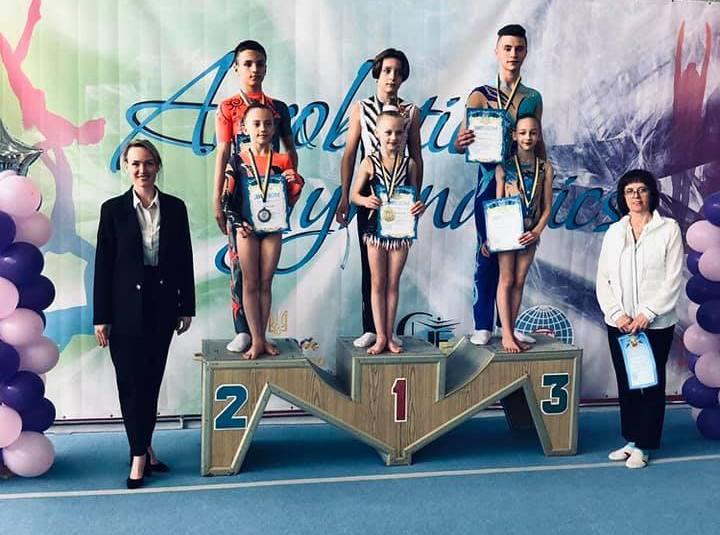 Акробати Покрова – призери Чемпіонату України