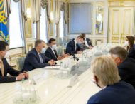 Глава держави зустрівся з високопосадовцями країн Бенілюксу