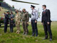 Президент розпочав робочу поїздку на Луганщину