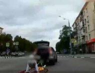 Внедорожник перевозил пассажиров на «летучем» ковре