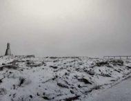 В Португалии прошел снегопад
