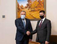Ігор Жовква обговорив з держсекретарем МЗС Естонії безпекову ситуацію на Донбасі