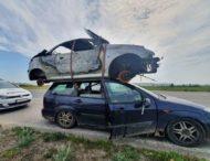 В Словакии полиция задержала «двухэтажный» автомобиль
